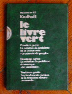 livre vert kadhafi libye