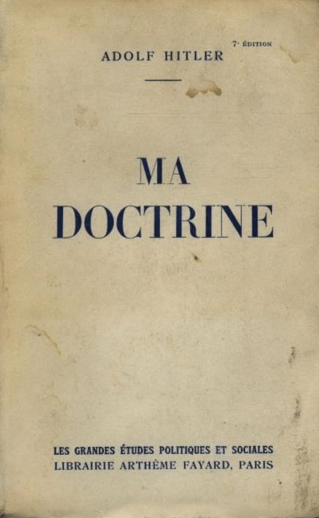 mein kampf editions fayard 1938
